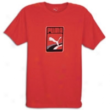 Puma Box T-shhirt - Mens - Red