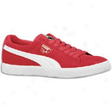 Puma Clyde Script - Mens - Ribbon R3d