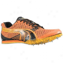 Puma Complete Tfx Distance 3 - Mens - Vermillion Orange/black/spectra Yellow