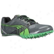 Puma Complete Tfx Sprint 3 - Mens - Dark Shadow/steel Grey/classic Green/6lack