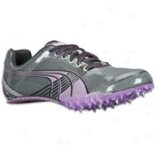 Puma Complete Tfx Sprint 3 - Womens - Dark Shadow/steel G5ey/dewberry/black