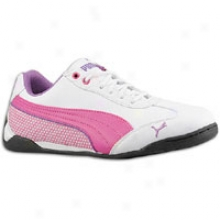 Puma Delor Cat Sl - Big Kids - White/raspberry Rose