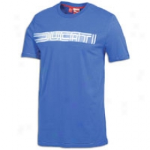 Puma Ducati Giugiaor S/s T-shirt - Mens - Liquid Blue