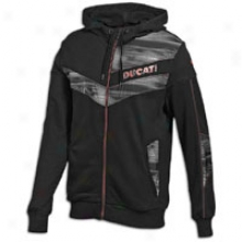 Puma Ducati Cucullate Sweat Jacket - Mens - Black