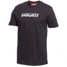 Puma Ducati Logo T-shirt - Mens - Black
