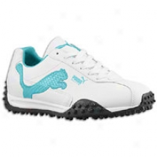 Puma Elite Cat - Womens - White/ceramic/viridian