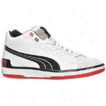 Pumz Evo Ducati Middle - Mens - White/black/ducati Red