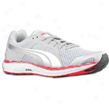 Puma Faas 550 - Mens - Grey Violet/limestone Grey/white/high Risk Red