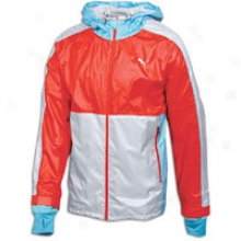 Puma Faas Wind Jacket - Mens - Grey Violet/puma Red