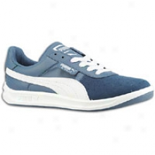 Puma G Vilas 2 Jr - Big Kids - Dqrk Denim/white