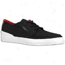 Puma Hawthorne Xe Lo - Mens - Black/ribbon Red/white