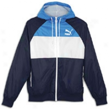 Puma Heritage Wind Jacket - Mens - New Navy