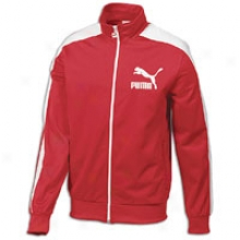 Puma Heroes T7 Full Zip Track Jacket - Mens - Ribbon Red