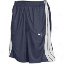 Puma Mesh Short - Mens - New Navy/high Rise