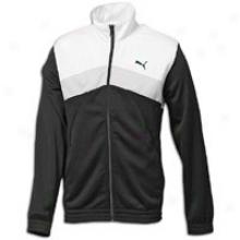Puma Mesh Track Jacket - Mens - Black