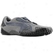 Puma Mostro Mesh - Mens - Carburet of iron Grey/new Navy