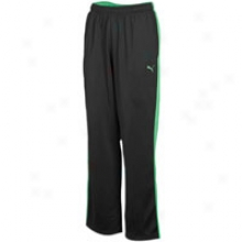 Puma Poly Knitted Tricot Pant - Mens - Black/green