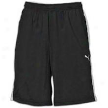 Puma Poly Knitted Tricot Short - Mens - Black