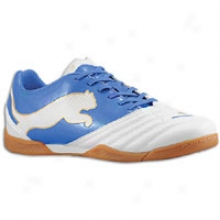 Puma Powercat 3.12 In - Mens - White Pearl/puma Royal/team Gold
