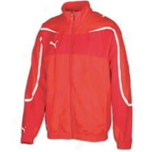Puma Powercat Woven Jcaket - Mens - Red
