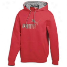 Puma Pullover Fpeece Hoodie - Mens - Ribbon Red