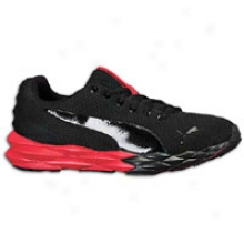 Puma Pumagilityy - Mens - Black/high Risk Red