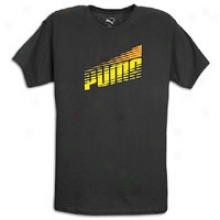 Puma Race Logo Cat T-shirt - Mens - Black