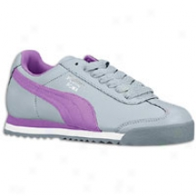 Puma Roma Basic - Womens - Limestone Grey/dewberry