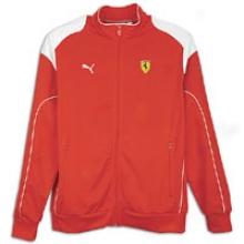 Puma Sf Track Jafket - Mens - Rosso Corsa