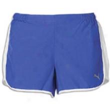 Puma Shorts - Womenss-  Dazzling Blue