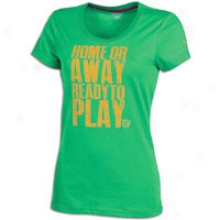 Puma Soccer Performance Graphic S/s T-shirt - Womens - Ceramic Green