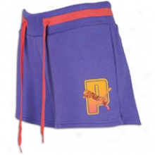 uPma Soccer Training Lifestyle Short - Womens - Ultra Violet