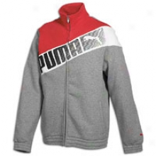 Puma Sweat Track Jacket - Mens - Medium Heather Grey