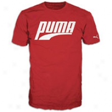 Puma T-shirt - Mens - Red