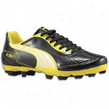 Puma V5.11 I Fg - Distended Kids - Black/white/blazing Yellow