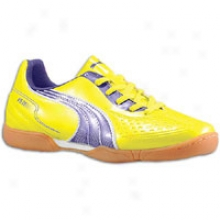 Puma V5.11 In - Big Kids - Vibrant Yellow/parachute Purple/white