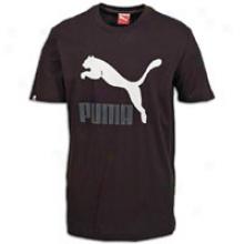 Puma Vintage #1 Logo T-shirt - Mens - Black