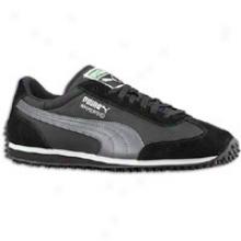 Puma Whirlwind Classic - Mens - Black/steel Grey
