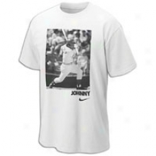 Reds Nike Mlb Coop3rstown Player T-shirt - Mens - White