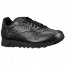 Reebok Classic Leather - Mens - Blck/black