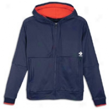Reebok John Wall F/z Hoodie - Mens - Sound Blue/red Attack