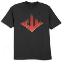 Reebok John Wall Speed Logo T-shirt - Mens - Black