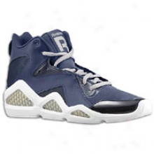 Reebok Kamikaze Iii Mid Nc - Mens - Athletic Navy/white/tin Grey