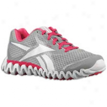 Reebok Premier Zig Flee from Se - Womens - Pink Ribbon/tin Grey/overtly Pink/silver