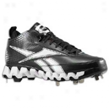 Reebok Pro Cooperstown Middle Zig M - Mens - Black/white