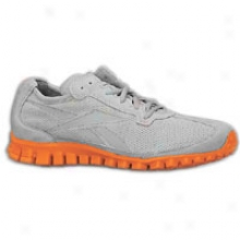 Reebok Realflex Suede - Mens - Grey/orange