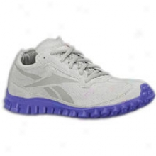 Reebok Realflex Suede - Womens - Carbon/team Purple