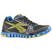 Reebok Realflex Transition Tr - Mens - Black/gravel/frenchy Blue/sun Rock