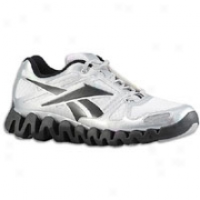 Reebok Zig Dynamc Elite - Mens - White/black/pure Silver