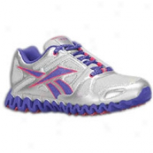 Reebok Zig Dynamic Sparkle - Big Kids - Innocent Silver/team Purple/overtly Pink